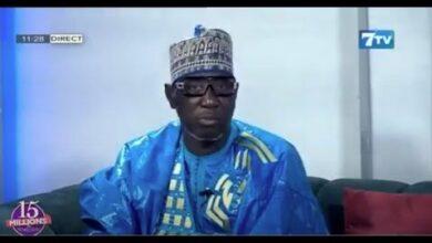 15 Millions De Senegalais Avec Imam Mouhamadou Lamine Gueye Qui Nous Present Ses Meilleures Voeux Zl9E8Omzb50 Image