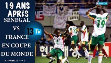 19 Ans Apres Senegal France En Coupe Du Monde Zxvtkhshkv4 Image