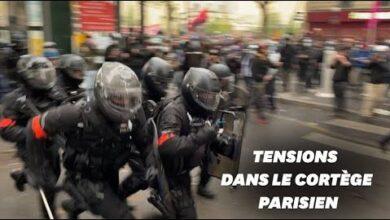 1Er Mai Les Images Des Debordements Dans La Manifestation A Paris Xl N6F Gdzu Image