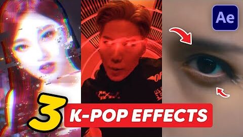 3 Easy K Pop Music Video Effects After Effects Tutorial Knoy3Qasohu Image