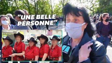 A Rambouillet Lhommage Emu Des Habitants Et Des Proches De Stephanie Monferme 9Lxfwxcyrgy Image