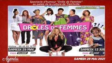Agenda De La Semaine Du 17 Au 22 Mai 2021 Les Drole De Femmes Nous Donnent Rdv Au Palais Yzcsnbgxaaa Image