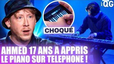 Ahmed 17 Ans Nous Choque Au Piano En Ayant Appris Sur Une Application Iphone B5Bac16Xjoi Image