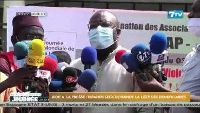 Aide A La Presse Birahim Seck Demande La Liste Des Beneficiaires Tg9Ih03 Iew Image