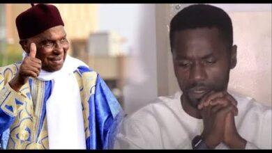 Alioune Kebe Futur Maire De Grand Yoff Felicite Abdoulaye Wade Jf0Ovitkjje Image