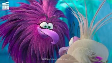 Angry Birds Copains Comme Cochons Paradis Glace Clip Hd 0Vflmgy4Tls Image