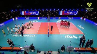 Australia Vs France Fivb Volleyball Nations League Men Match Highlights 30 05 2021 A9Jrsuzbsb0 Image