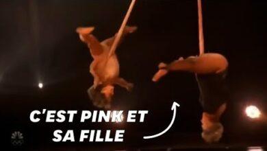 Aux Billboard Awards Pink Et Sa Fille Senvolent Sur Scene P8L Upavk0U Image