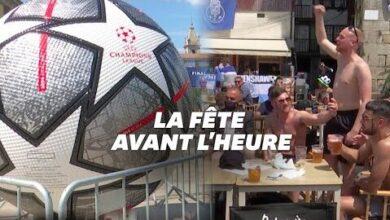 Avant La Finale De La Ligue Des Champions Les Supporters Anglais Deferlent Sur Porto Nei8 Dkdio0 Image