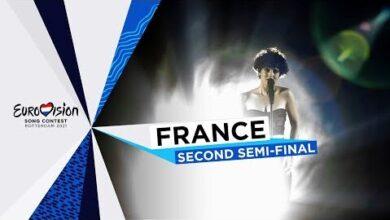 Barbara Pravi Voila Live France Second Semi Final Eurovision 2021 Wqe8B Uxuwy Image