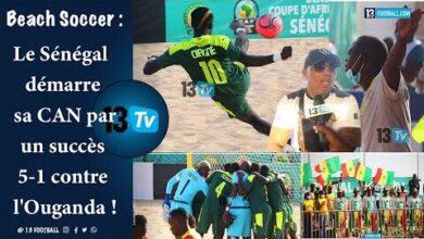 Beach Soccer Le Senegal Demarre Sa Can Par Un Succes 5 1 Contre Louganda U67Qk8Girt4 Image
