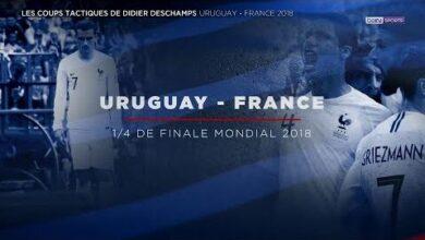 Bein Bleus Les Coups Tactiques De Didier Deschamps Uruguay France Hplk3Hk9R9A Image