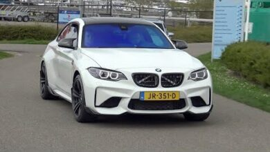 Bmw M2 F87 With M Performance Exhaust Revs Accelerations Burnout X2Z Cdnqws Image