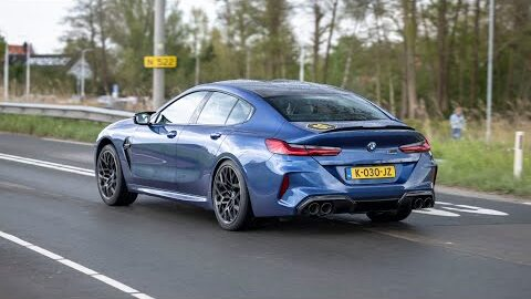Bmw M8 Grand Coupe Accelerations Sounds Launch Control