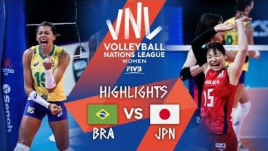 Bra Vs Jpn Highlights Week 2 Womens Vnl 2021 Ndvl1Ejiy6S Image
