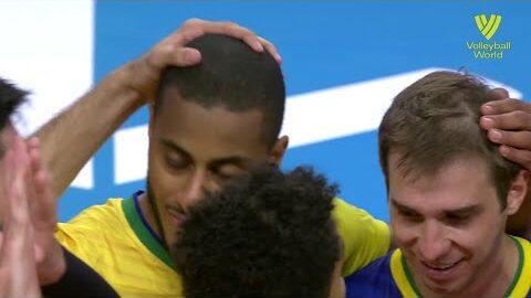 Brazil Vs Argentina Fivb Volleyball Nations League Men Match Highlights 28 05 2021 Al5Ew Kgny Image