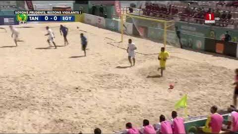 Can Beach Soccer Tanzanie Vs Egypte