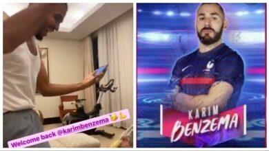 Ce Fan De Karim Benzema Tres Heureux De La Convocation De Lattaquant Du Real Madrid En Selection Vrl0Kcvsp O Image