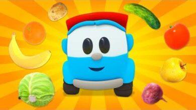 Chante Avec Leo Le Camion Chansons En Francais Pour Les Petits Legumes Et Fruits 03Hakat7Gig Image