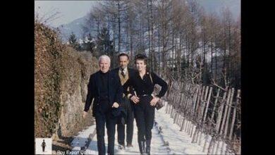 Charlie Chaplin At Home With Dawn Addams Prince Vittorio Massimo Rare Home Movie Footage Mf9Wiv 5Eu8 Image