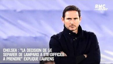 Chelsea La Decision De Se Separer De Lampard A Ete Difficile A Prendre Explique Laurens 1Ixdqg6Gnhk Image