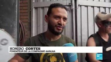 Colombie Rencontre Avec Des Figures De La Contestation Ectvvzdt3Yg Image