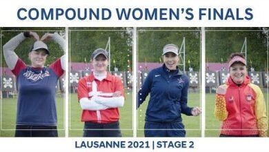 Condensed Compound Womens Finals Lausanne 2021 Hyundai Archery World Cup S2 Ulpfakulvdu Image
