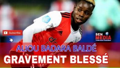Coup Dur Aliou Badara Balde Gravement Blesse Sera Absent Pour Plusieurs Mois Jz X1Zu 0Ze Image