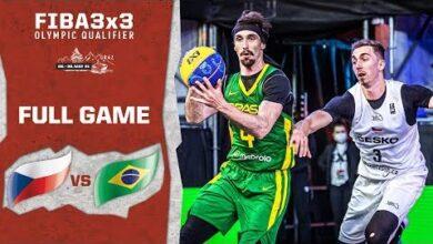 Czech Republic V Brazil Mens Full Game Fiba 3X3 Olympic Qualifier Vaqculelbqk Image