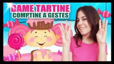 Dame Tartine Comptines A Gestes Pour Nos Bebes Titounis Hw4Innddttk Image