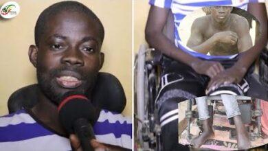 De Champion Dafrique De Lutte A Handicape Sur Chaise Roulante Le Calvaire De Mamadou Kasse Diop Ni1Xwbf8T M Image