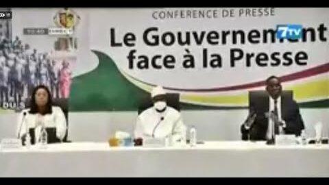 Direct Le Gouvernement Face A La Presse Un Programme Durgence De Letat 4Zkvdsy0Bfa Image