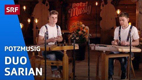 Duo Sarian Endlich Onderem Dach De Emil Spielt Hackbrett Potzmusig Srf Musik H Sywohla0S Image