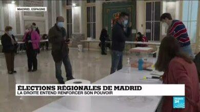 Elections Regionales De Madrid La Droite Entend Renforcer Son Pouvoir Btg8Nbk0F0O Image