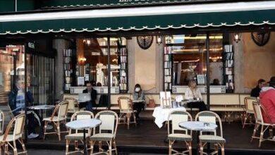 En Direct Apres Des Mois Darret Les Cafes Retrouvent Leurs Premiers Clients Mlzixd0C1K8 Image