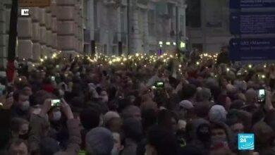 En Russie Plus De 1 400 Manifestants Pro Navalny Arretes T6Cqonzlhx8 Image