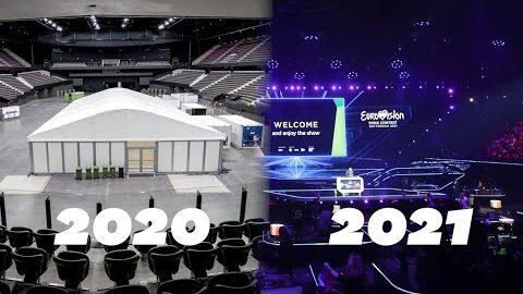 Eurovision 2021 La Metamorphose De Lahoy Arena Hopital Durgence Pendant La Pandemie