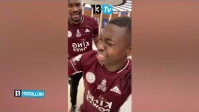 Fa Cup Leicester Lemporte 1 0 Devant Chelsea Edou Mendy Remplacant Nampalys Celebre Son Titre Kmkzshlhxbc Image