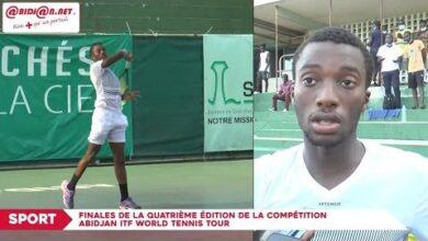 Finales De La Quatrieme Edition De La Competition Abidjan Itf World Tennis Tour 5F1S8Ol0Dk Image