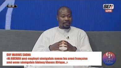 Guy Marius Ni Auchan Ame Employe Senegalais Nonou Leu Arme Francaise Ame Wone Senegalais Qgcst2P8Fsc Image