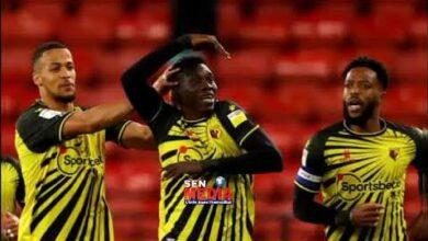 Ismaila Sarr Marque Et Signe Son Retour En Premier League Il A Ete Le Joueur Cle De Son Club C2Etbrqbh40 Image