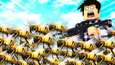 Je Cree Une Armee Dabeilles Roblox Beeface Be A Bee Bvp0G1V7Nri Image