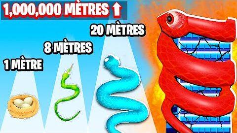 Je Mesure Plus De 1000000 Metres Dans Snake Master 3D Ucnjanjubnk Image