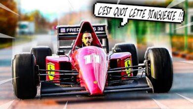 Je Teste Une Formule 1 Sur La Route Vm9Fjn 8Ige Image