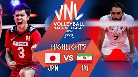 Jpn Vs Iri Highlights Week 1 Mens Vnl 2021