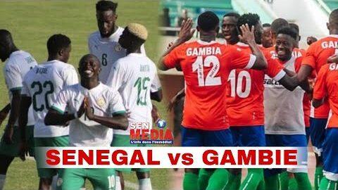 La Gambie Veut Affronter Le Senegal En Match Amical Des Ce Mois De Juin 4Srnr1Lp46I Image