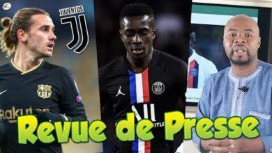 La Juventus A Lattaque Pour Griezmann Le Psg A Tranche Pour Gana Gueye Revue De Presse Afrprpaisjo Image