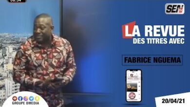 La Revue Des Titres Avec Fabrice Nguema Du Mardi 20 Avril 2024 Gy0Ch1P9Izk Image