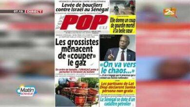 La Revue Des Titres Des Titres De La Presse Du Lundi 17 Mai 2021 Avec Astou Dione Yp8Hubemv2I Image