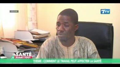 La Sante Avant Tout Dr Amadou Barry Nous Explique Comment Le Travail Peut Affecter La Sante D5Wtbi Txho Image